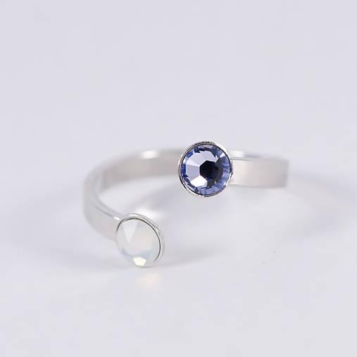 DUO prsteň PROVENCE & WHITE