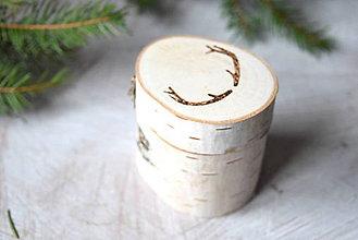 Drobnosti - Drevená krabička... - 7455854_