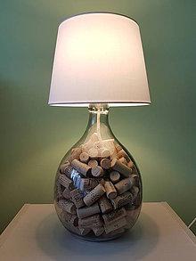 Svietidlá a sviečky - Funkčná dekoračná lampa WineLight - 7453555_