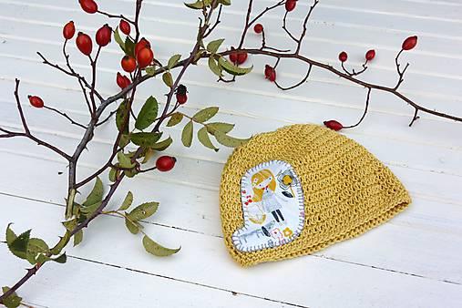 Detské čiapky - Mimi čepice 1-4měsíce - 7455697_
