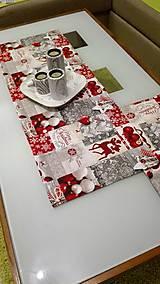 Štóla vianočný patchwork