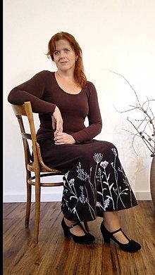 Sukne - Kresba na textil podľa želania zákaznika - 7455882_
