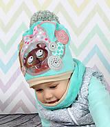 Detské čiapky - Detský setík  - 7456495_