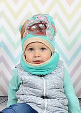 Detské čiapky - Detský setík  - 7456497_