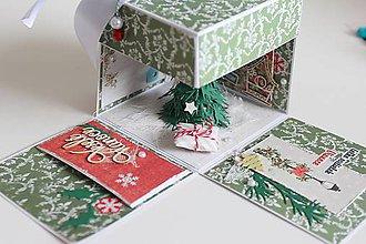 Papiernictvo - Vianočná krabička - 7455783_