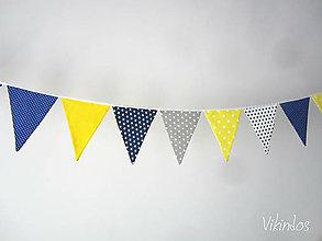 Detské doplnky - Vlajky...slnko a more - 7455527_