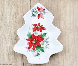 Nádoby - Vianočná misa - stromček 2ks - 7455263_