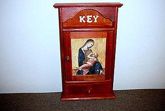Nábytok - Skrinka na kľúče - 7455221_