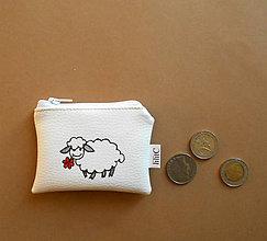 Peňaženky - s ovečkou - 7456023_