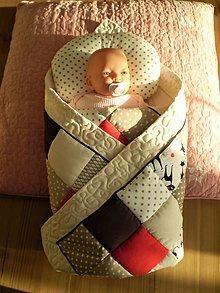Textil - Detská patchwork deka - 7456915_