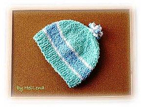 Detské čiapky - Detská čiapka - Pastelová - 7459288_