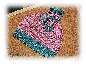 Detské čiapky - Detská čiapka - Babská - 7459353_