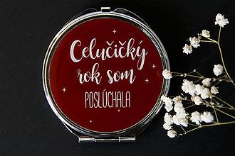 Zrkadielka - Vianočné - 7461438_