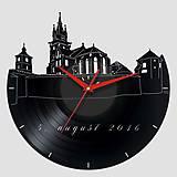 Kremnický zámok - vinylové hodiny
