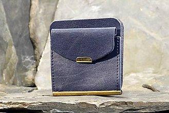 Peňaženky - Kožená dolarovka - Klasik - 7460374_