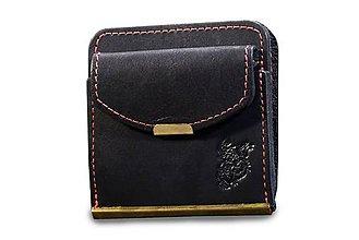 Peňaženky - Kožená dolarovka - Klasik Zvířecí - 7460716_