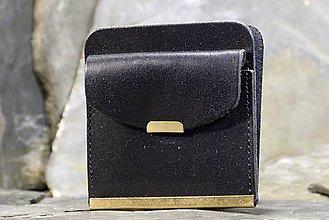 Peňaženky - Kožená dolarovka - Klasik hladká - 7460769_