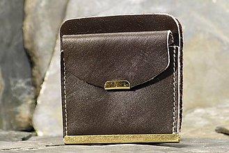 Peňaženky - Kožená dolarovka - Klasik - 7460780_