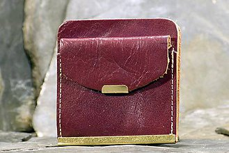 Peňaženky - Kožená dolarovka - Klasik - 7460809_