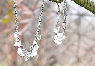 Sady šperkov - Súprava List zimy - 7459321_