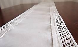 Úžitkový textil - Slávnostná štóla biela -  kocočka - 7461580_