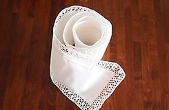 Úžitkový textil - Slávnostná štóla biela -  kocočka - 7461583_