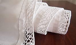 Úžitkový textil - Slávnostná štóla biela -  kocočka - 7461591_