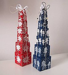 Dekorácie - Vianočný stromček - 7460937_