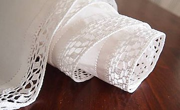 Úžitkový textil - Slávnostná štóla biela -  kocočka - 7461596_