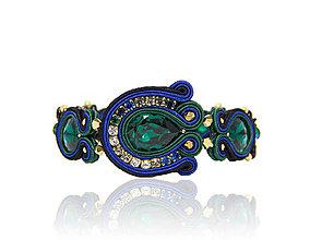 Náramky - Náramok Emerald - 7462349_