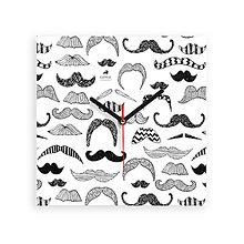 Hodiny - Nástenné hodiny Moustache - 7459062_