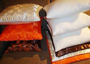 Úžitkový textil - Dopredaj! 2 kusy saténové návliečky + vankúše - 7460872_