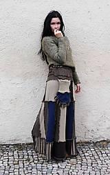 Sukne - maxi zimná sukňa,lelovica mestská - 7463067_