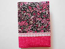 Papiernictvo - Obal na knihu - ružový - 7467050_