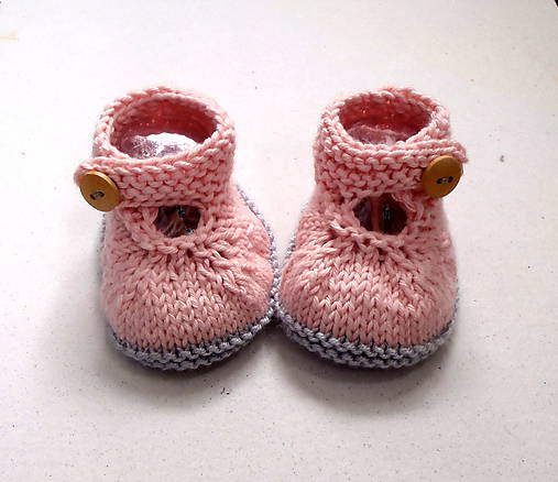 21ca704e11 Topánočky - Papučky pletené z cukrovej vaty - 7464136