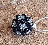 Náhrdelníky - Perlový prívesok gulička - 7465609_