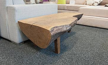 Nábytok - konferenčný stolík z masívu DUB - 7464092_