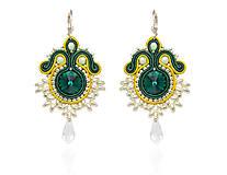 Náušnice - Náušnice Emerald - 7467777_