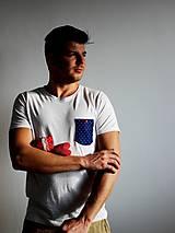 Oblečenie - tričko MODROTLAČ - ko - 7466938_