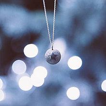 Náhrdelníky - vianočný prívesok - Hviezdička - 7467113_