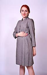 Šaty - Tvídové šaty - 7464631_