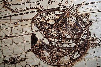 Obrazy - mapa sveta stará - 7467154_