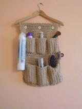 Úžitkový textil - Organizér do kúpeľne - 7466374_