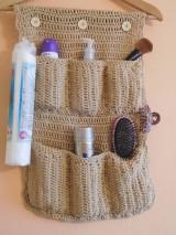 Úžitkový textil - Organizér do kúpeľne - 7466376_