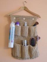 Úžitkový textil - Organizér do kúpeľne - 7466428_