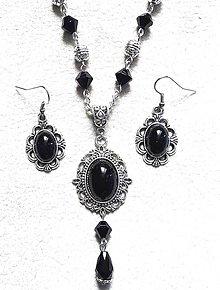 Sady šperkov - čierna trilógia - 7472352_
