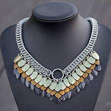 Náhrdelníky - Argetlam čokoládový - náhrdelník - 7470426_