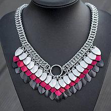 Náhrdelníky - Argetlam pekelný - náhrdelník - 7470443_