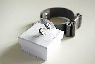 Sady šperkov - Kožený set - 7472178_