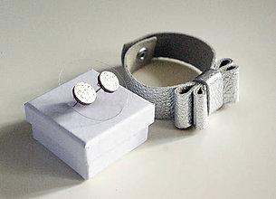 Sady šperkov - Kožený set - 7472368_